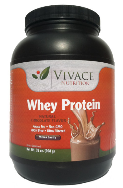 Grass Fed Whey Protein 32oz chocolate